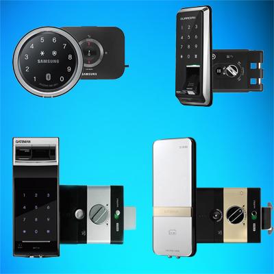 قفل دیجیتال بدون دستگیره