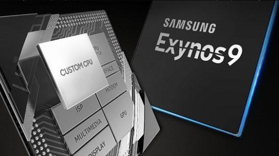 تراشه اگزینوس 9810 در گوشی گلکسی S9