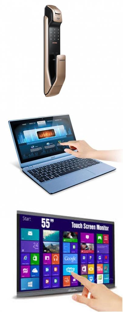 قفل دیجیتال لپ تاپ نمایشگر