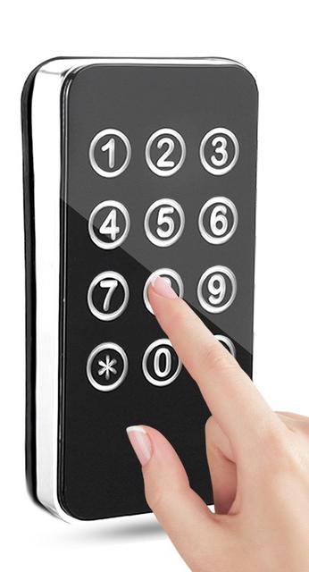 صفحه لمسی قفل دیجیتال