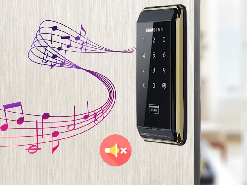 قابلیت تنظیم صدای قفل