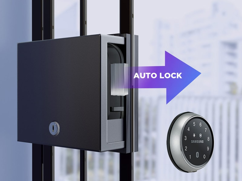 قفل هوشمند سامسونگ ds700