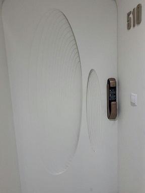 قفل در