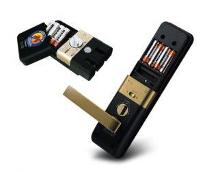 باتری قفل دیجیتال
