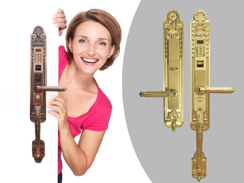 انواع برندهای قفل الکترونیکی