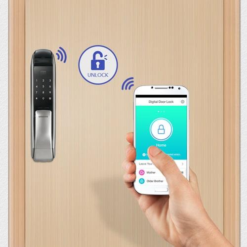 کنترل از راه دور قفل دیجیتال