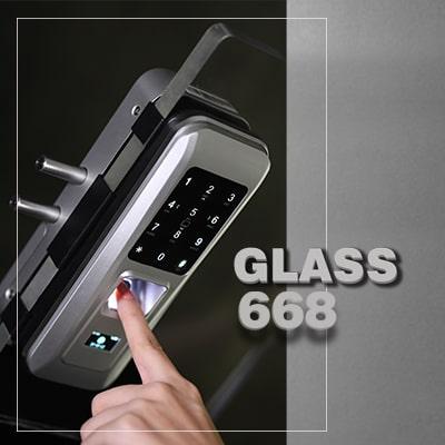 قفل دیجیتال شیشه سکوریت GLASS 668
