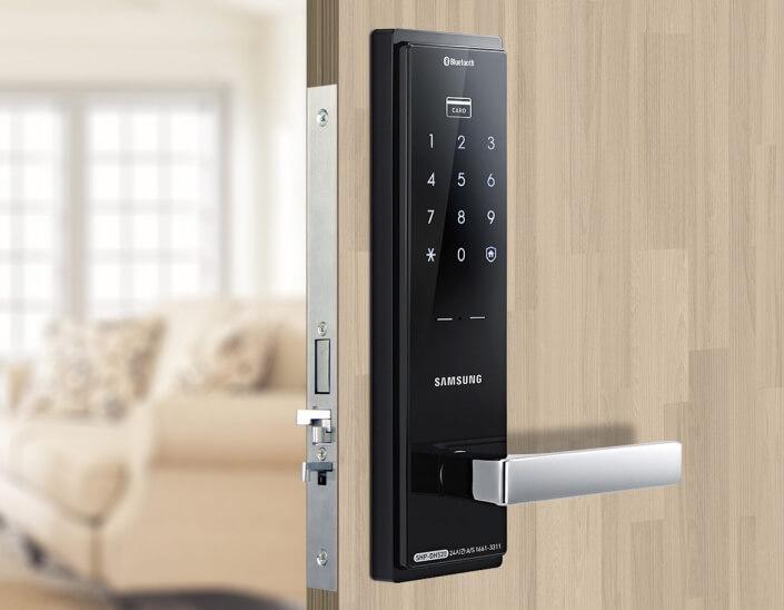 قفل-دیجیتال-درب