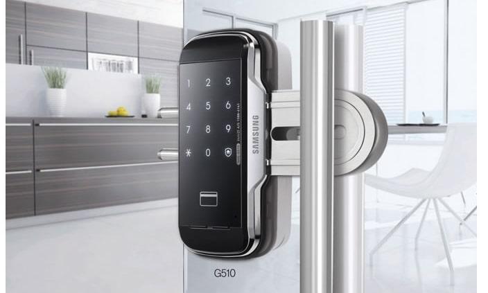 قفل-دیجیتال-شیشه-سکوریت