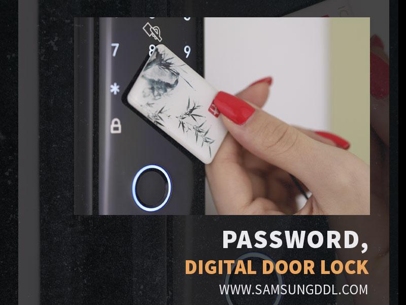 روش های دسترسی قفل رمزی