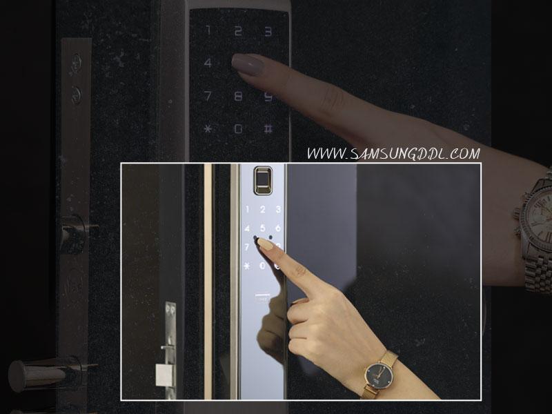 قفل اثر انگشتی